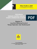 SPLN T5.001-1 2008 Pedoman Desain Gardu Induk 150 KV Konvensional Tanpa Operator - Bag a (Layout)