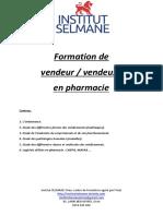 Vendeur en Pharmacie