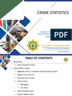 2018:19 Crime Stats