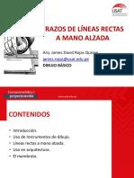 Clase 01.- Lineas Rectas - 2019- 2