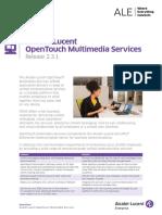Opentouch Multimedia Services 2 3 1 Datasheet En