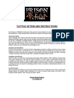 Tattoo Aftercare Instructions1