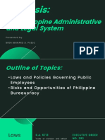 Philippine Bureaucracy