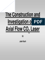 Axial Flow CO2 Laser