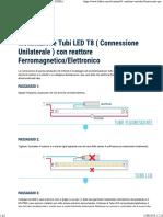 Cambiare Un Tubo Fluorescente Per Un Tubo LED - LEDKIA