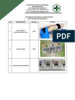 Daftar Permintaan Barang Laboratorium