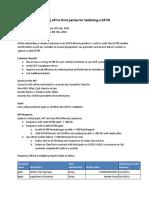 Exposing API to Third Parties for Validating a GSTIN - Google Docs