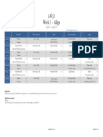 PDF - Week 1 - Meal Plans