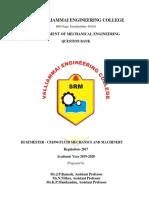 CE8394-Fluid Mechanics and Machinery