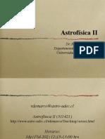 Presentacion astrofisica