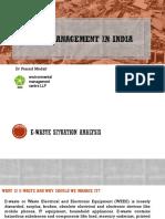 E Waste Business in India WTC Dr. Prasad Modak