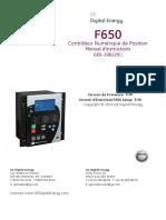 f650 Manuel Fr