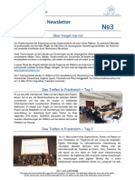 forget-me-not newsletter no 3 deutsch