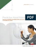 Predictive Asset Maintenance