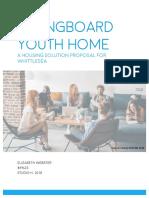Springboard Youth Proposal