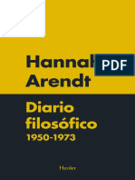 Arendt- Diario Filosófico-1950 1973