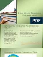 9. Emergency Response Preparedness