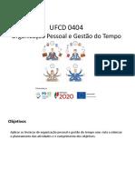 Apresentação - UFCD 0404