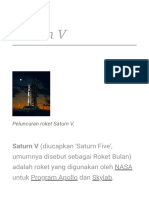 Saturn v - Wikipedia Bahasa Indonesia, Ensiklopedia Bebas