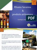 Catalogue produits tafia (actualisé sept 2019)