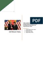 Análisis del discurso político de Donald Trump en contexto con el incremento de aranceles a las importaciones chinas