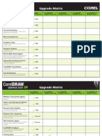 CDGSX4 Upgrade Matrix Matrix ENG-5087-11 Printable