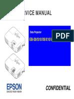 Manual de Servico Projetor Epson S9 e Epson S10