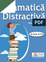 Modele Teste Rezolvate Gramatica Distractiva Clasele III IV