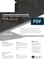 ECommerce Web Application Development