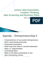 Idea Generation - Ch5