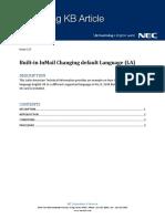 KB10190008 Built-In InMail Changing Default Language LA