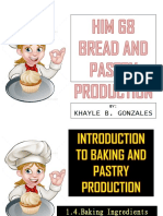 4. Basic Baking Ingredients