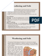 3.1 Weathering and Soils