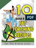 10 Metabolic Cooking Recipes FREE PDF