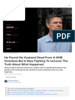 Man Who Found His Husband Dead From a GHB Overdose Still Searching for Answers 3 de 4