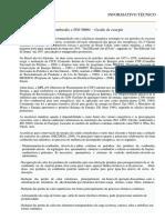 Informativo Técnico - Combustão e ISO 500001 - Gestão de Energia