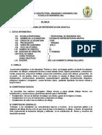 Silabo de Grafica y Dibujo Tecnico 2016-I-escuela de Ingenieria Civil-udch.