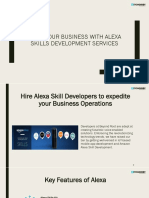 Alexa Skill Development Services