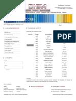 tabela de cores munsel