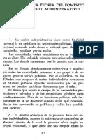 JORDANA de POZAS - Ensayo de Una Teoria Del Fomento en El Derecho Administrativo(1)