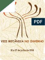 Apostila Botânica No Inverno 2018