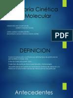 Teoría Cinética Molecular DIAPOSITIVA