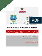 Plan Municipal de Desarrollo Urbano de Compostela, Nayarit 2015