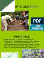 Huerta Orgánica Principios