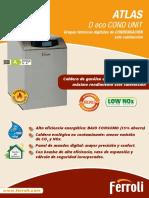 Ficha Tecnico Comercial Caldera Gasoil Condensacion Ferroli