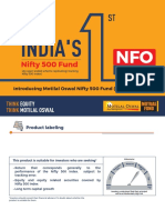 Motilal Oswal Nifty 500 Fund