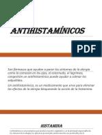 Antihistaminicos - Linda Gonzalez.