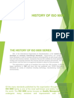 History of ISO 9000
