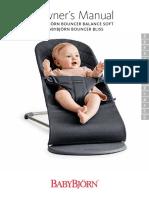 Instrucciones Hamaca Babybjorn