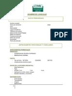 Anamnesis Neurolinguìstica